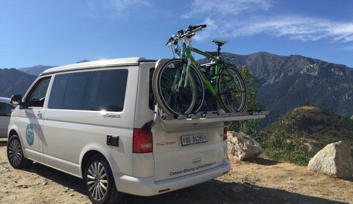 Mit dem VW Bus durch Korsika