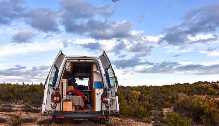 Leben und Arbeiten im Campingbus