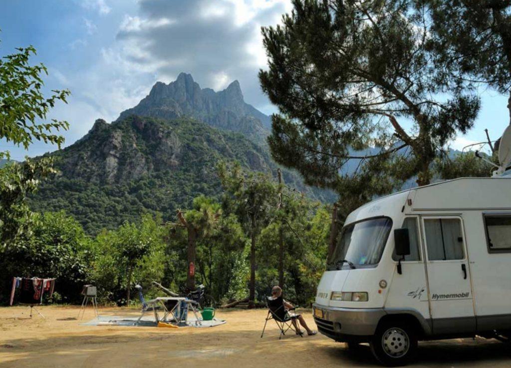reiseziele herbst camping sole e vista korsika