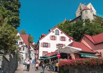 Bodensee Meersburg Burg