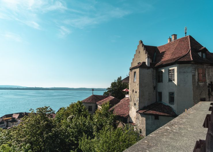 Bodensee Meersburg Schloss