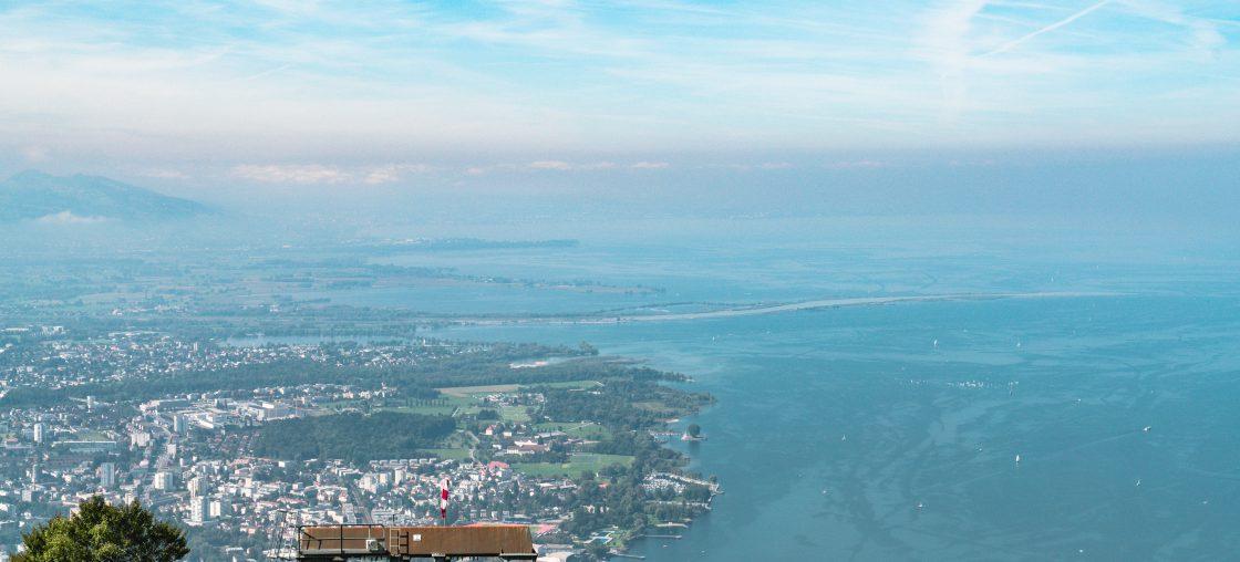 Bodensee Aussicht Pfänder
