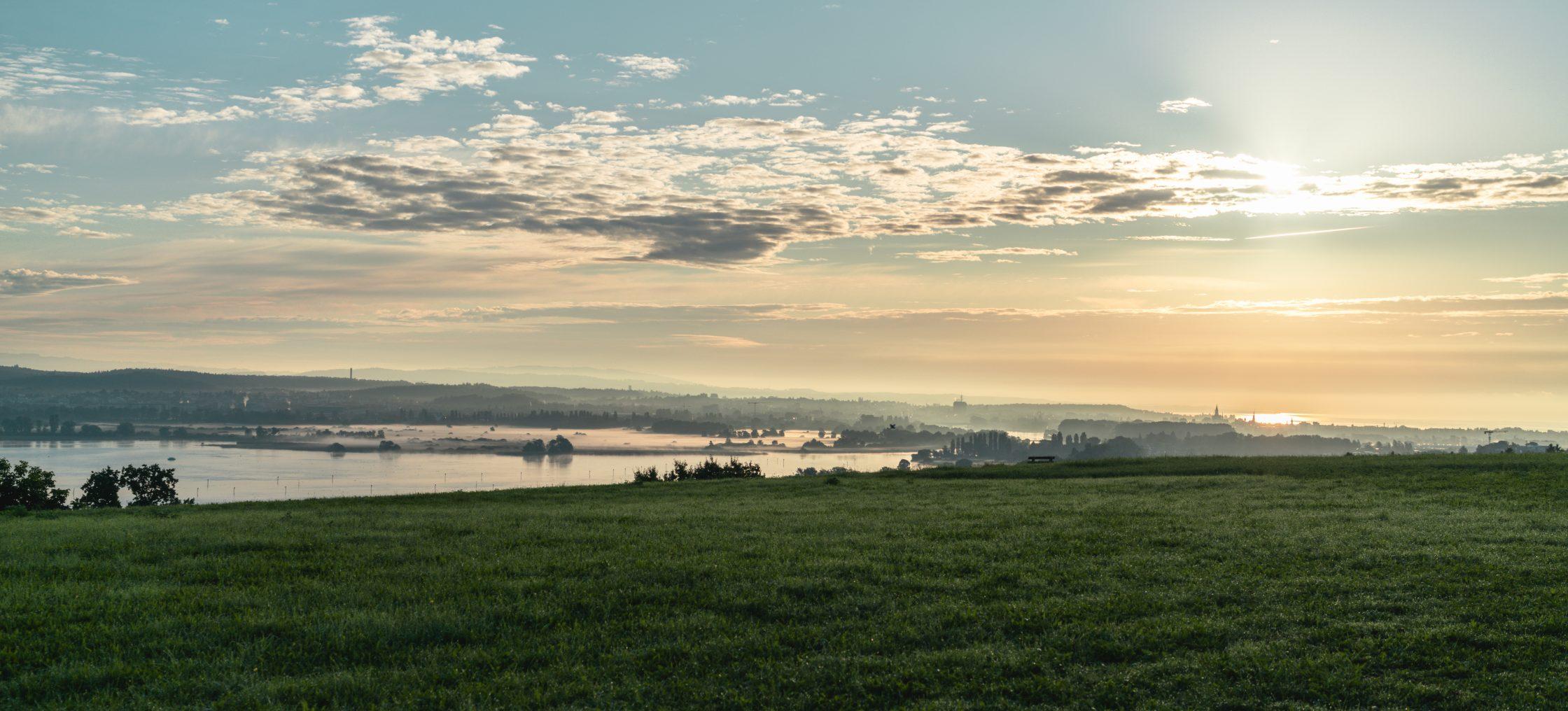 Bodensee Zelglihof Abend