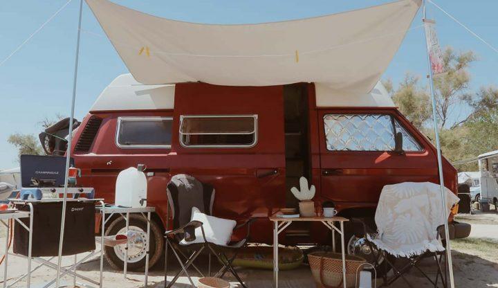 mycamper vw bus van dijk roter campingbus