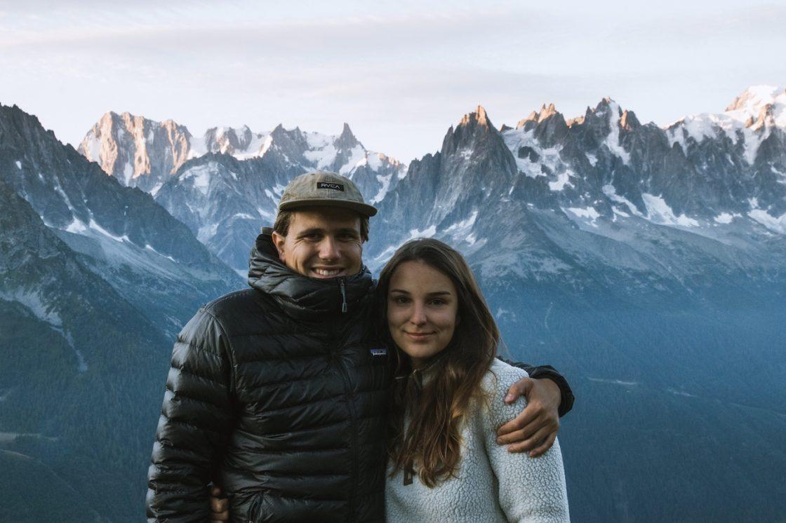 Mit dem Camper über die Berge der Westschweiz