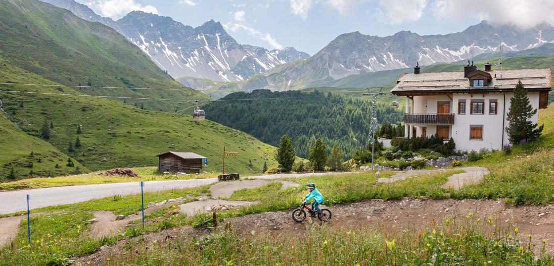 pumptrack bike park arosa
