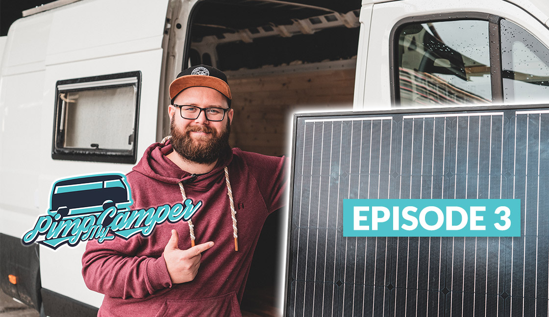 Camper Ausbau: Solaranlage & Elektronik