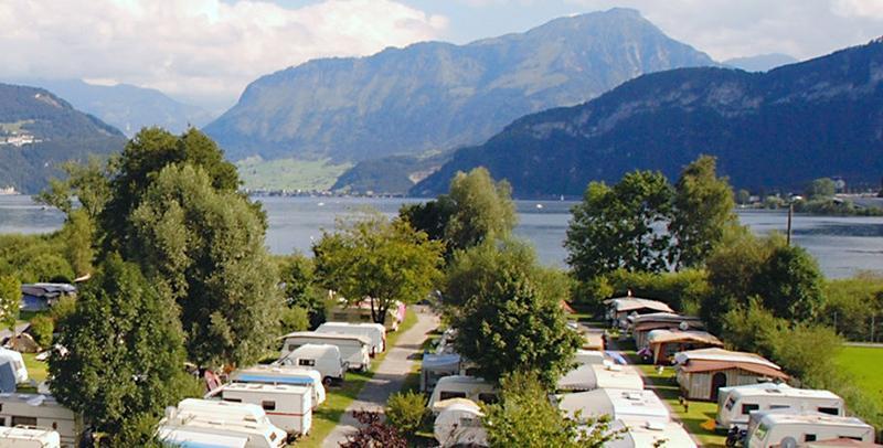 camping lac des quatre cantons tcs camping horw