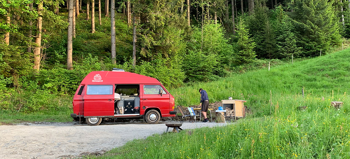 MyCamper testet Wildcamping Alternative