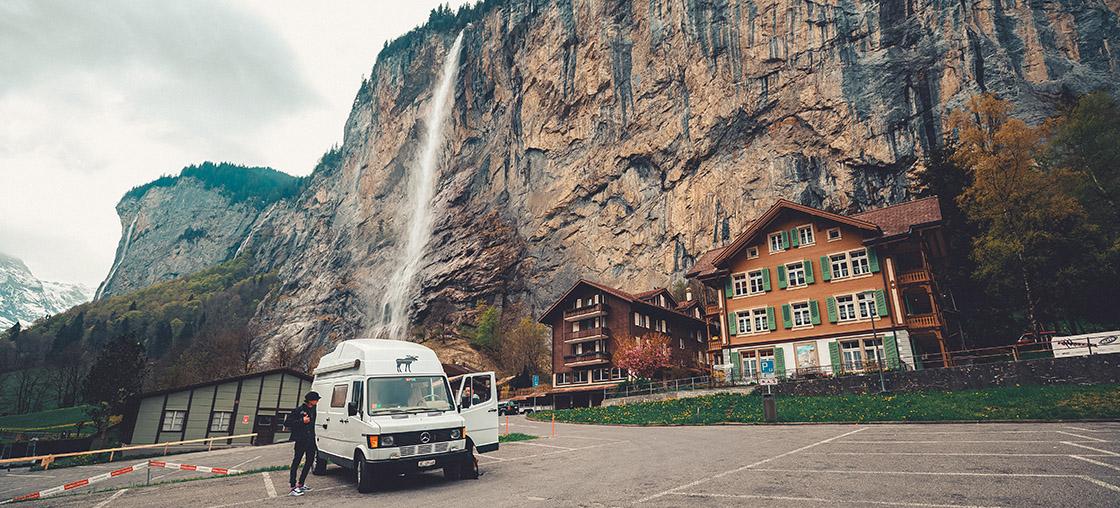 schweiz ausflug campen