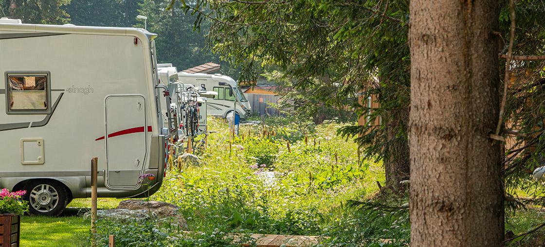 Campingbus Wohnmobile Fluss