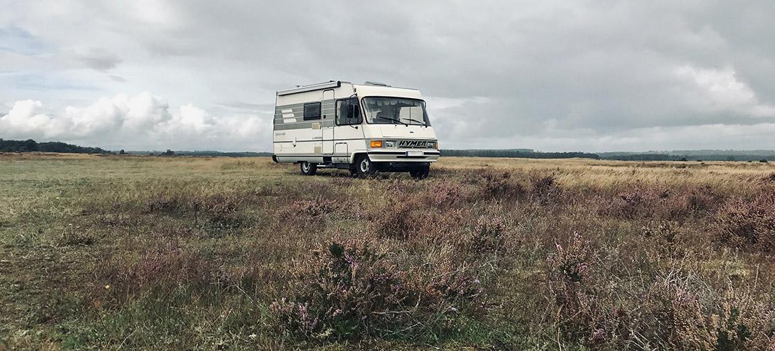 camping bus verhalten
