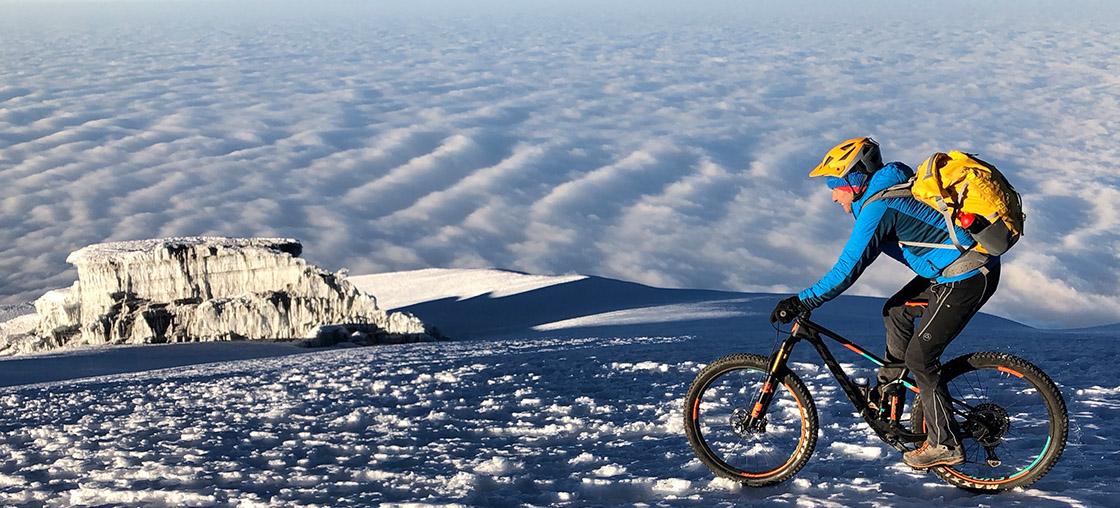 kilimanjaro fahrrad velo bike andré luethi