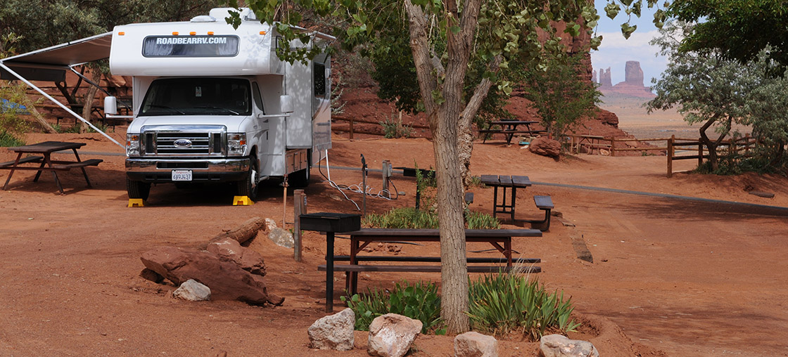 monument valley camper usa andré luethi