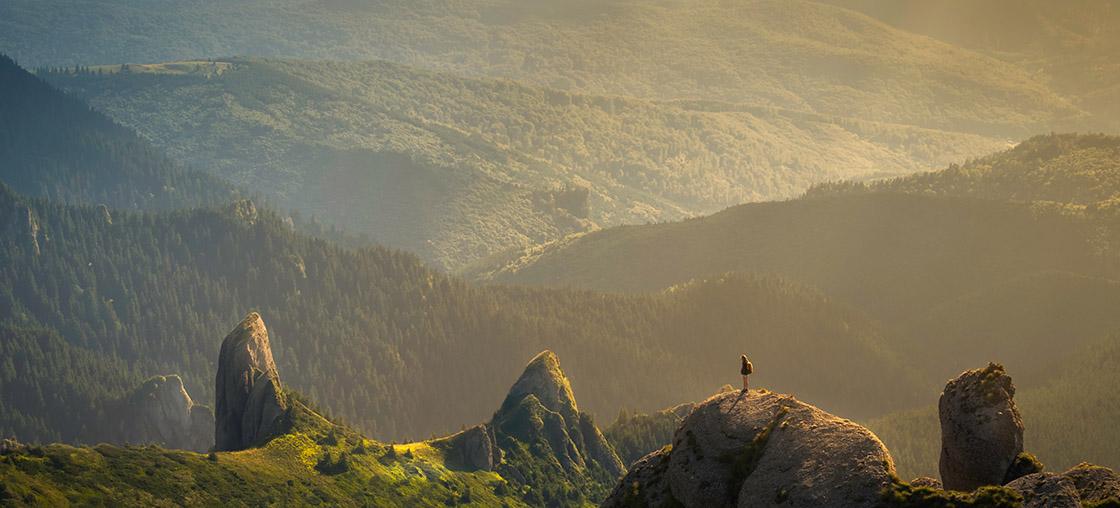 natur camping berge wandern