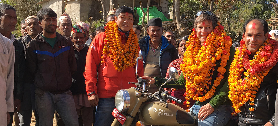 nepal motorrad andré luehti