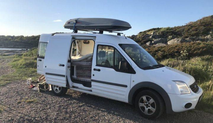 hyr campingvan glennart hindas sweden
