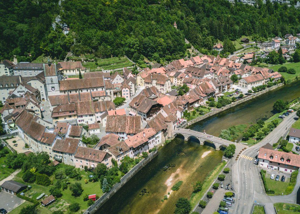 Saint-Ursanne - Kanton Jura Ferien