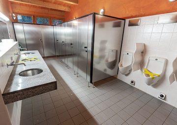 camping chapella toiletten