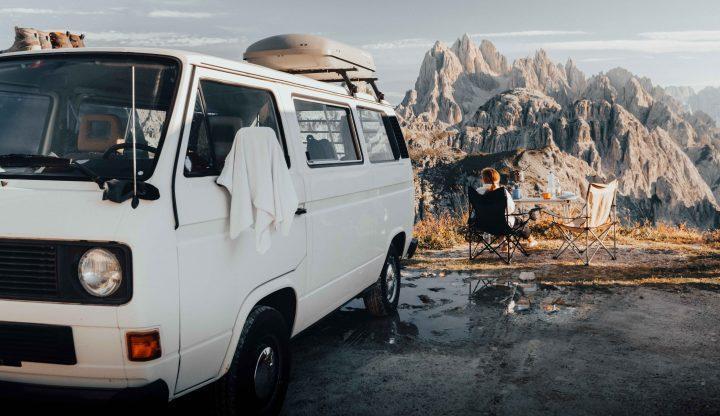 Drei Wochen mit einem VW T3 durch die Schweiz und Dolomiten