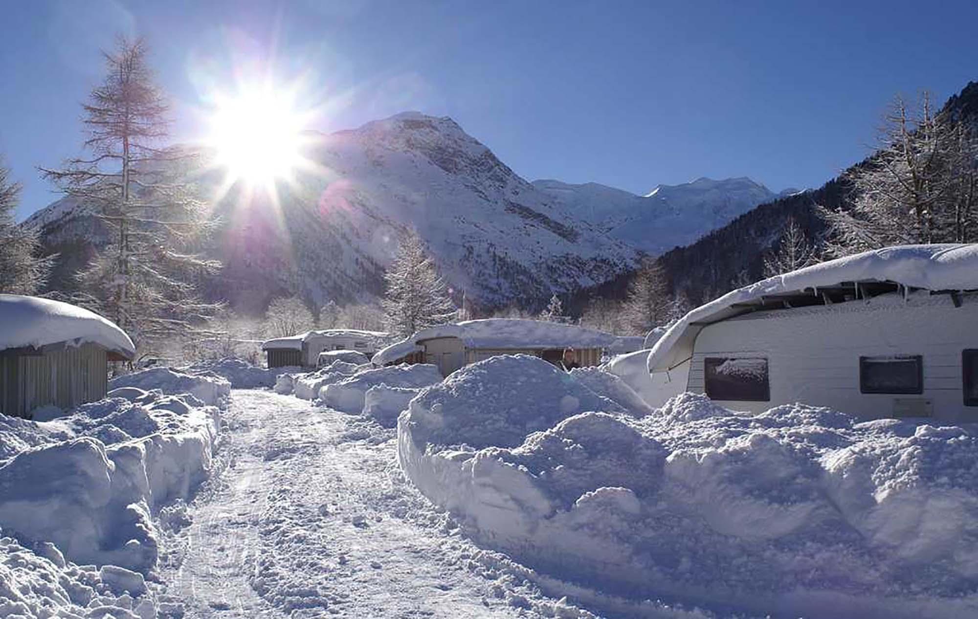 Les plus beaux campings pour l'hiver