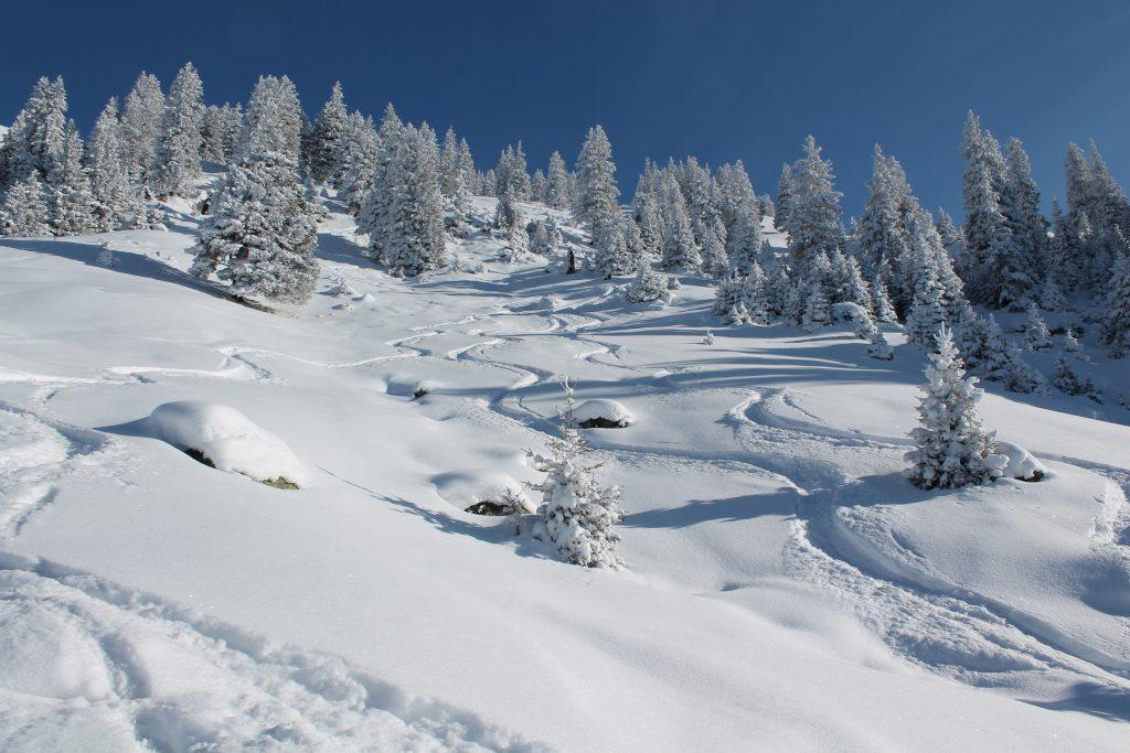 Sedrun Freeridestrecke, Wintercamping