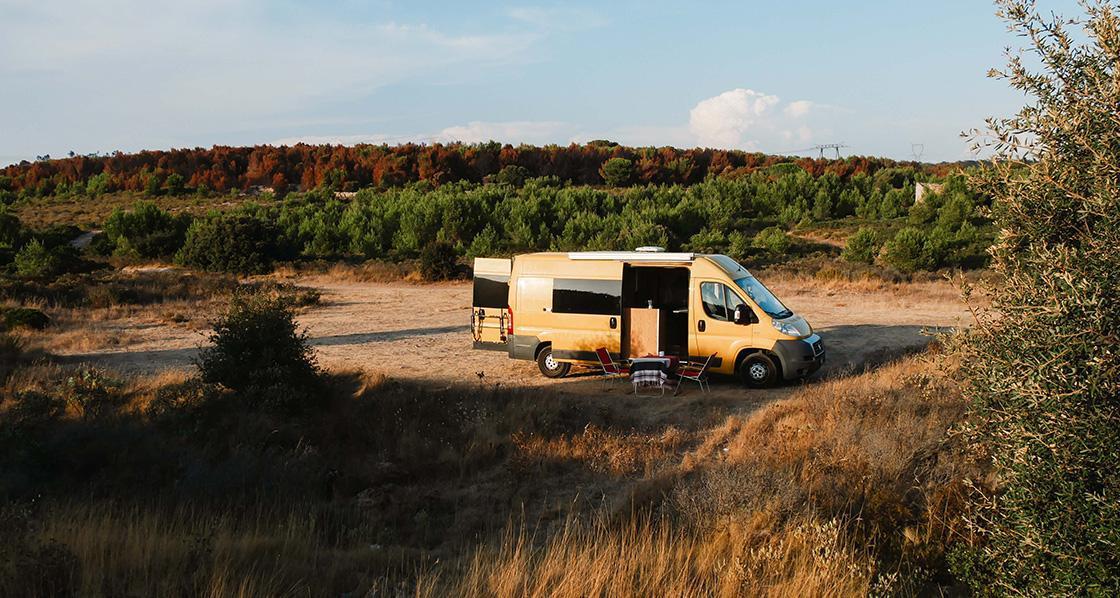 Camping Roadtrip von der Atlantikküste durch Südfrankreich bis zur Toskana