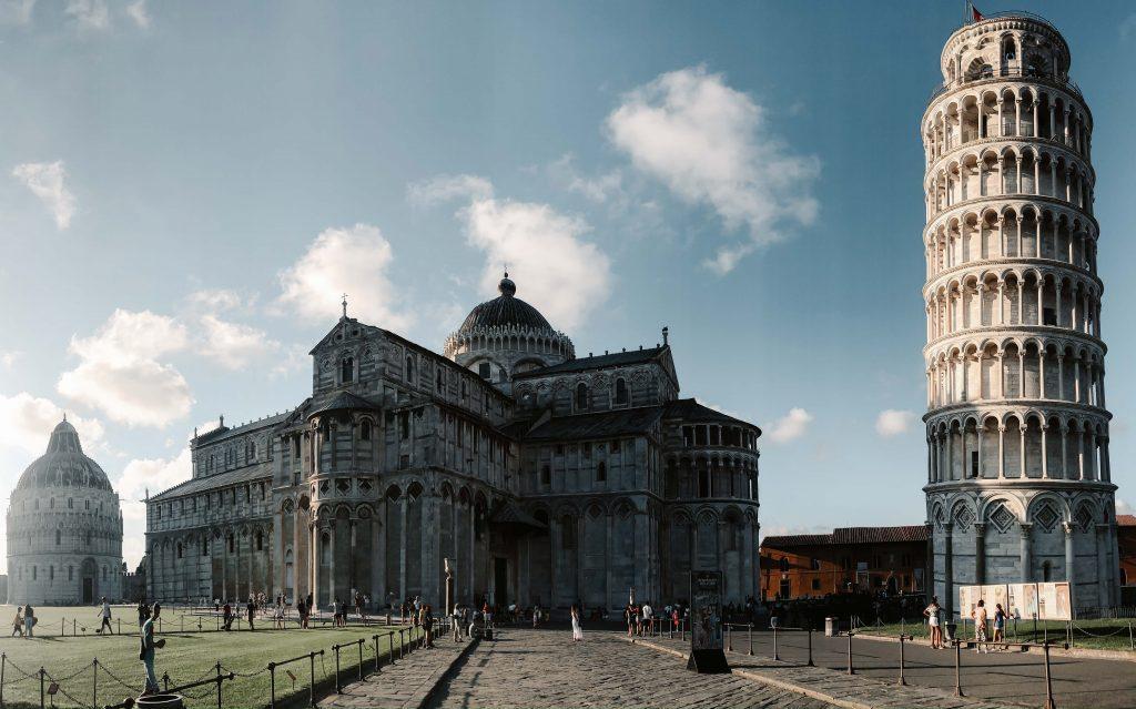 Rundreise Toskana, der Schiefe Turm von Pisa