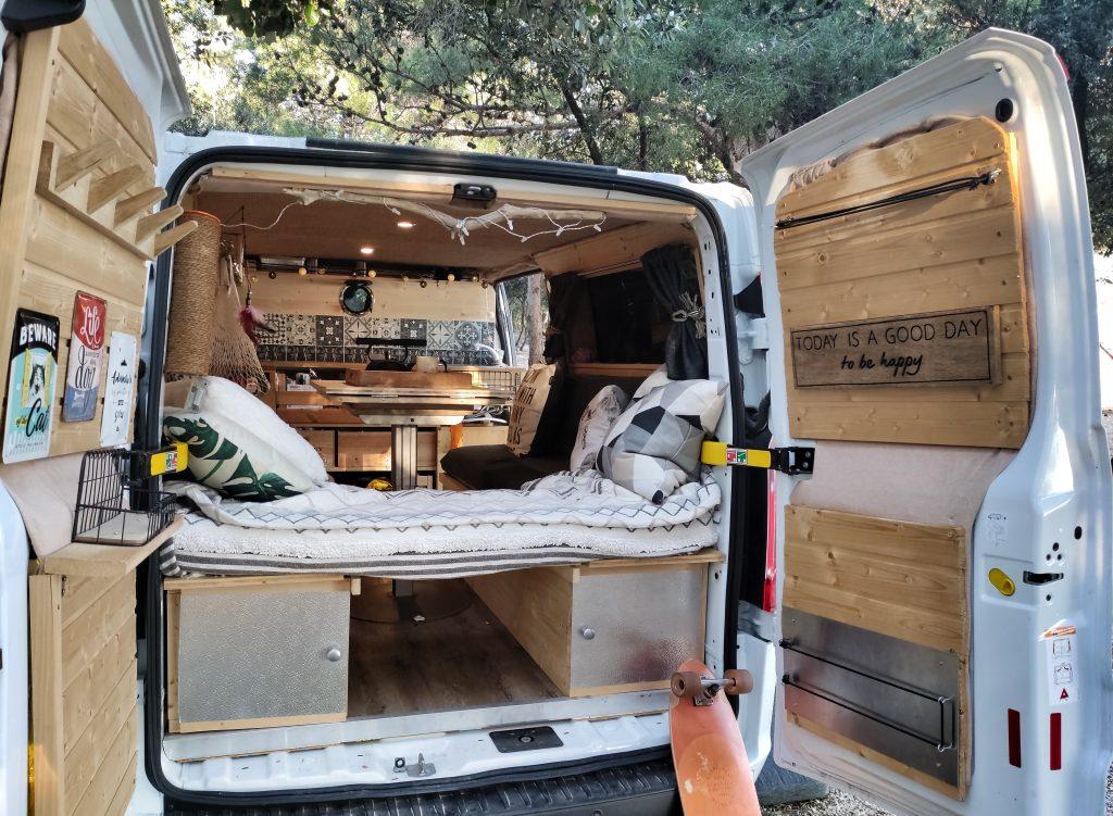 into the van camper ausbau schweiz