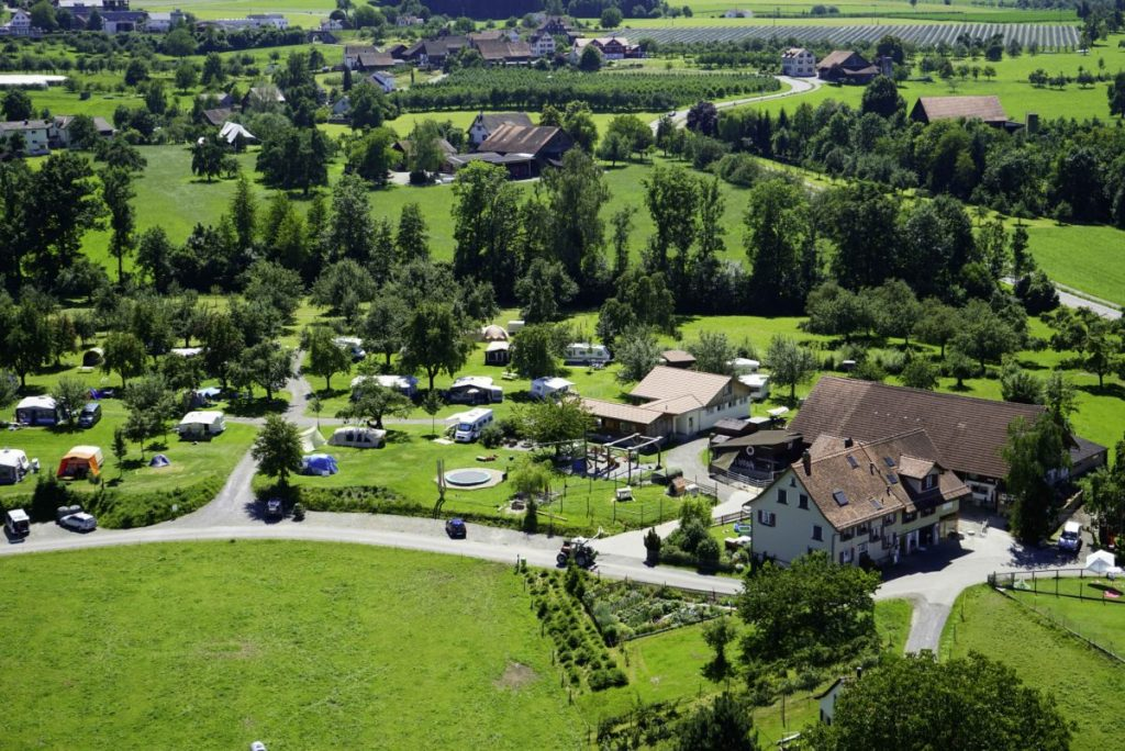familiencamping schweiz campingplatz manser