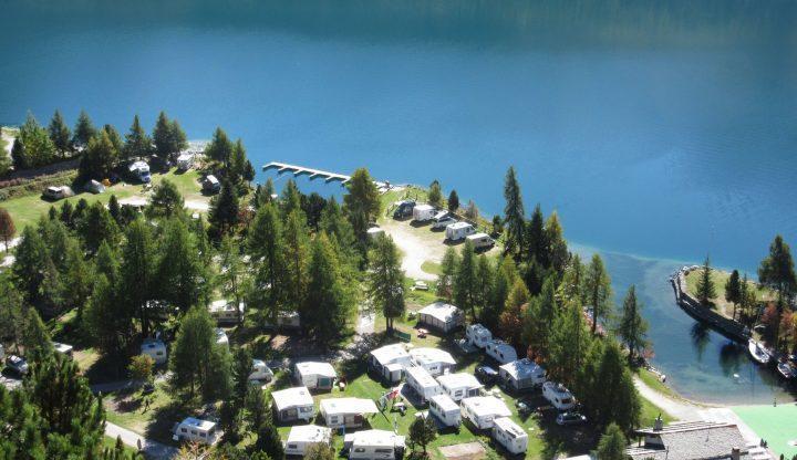 Die 5 schönsten Campingplätze an Schweizer Seen und Flüssen