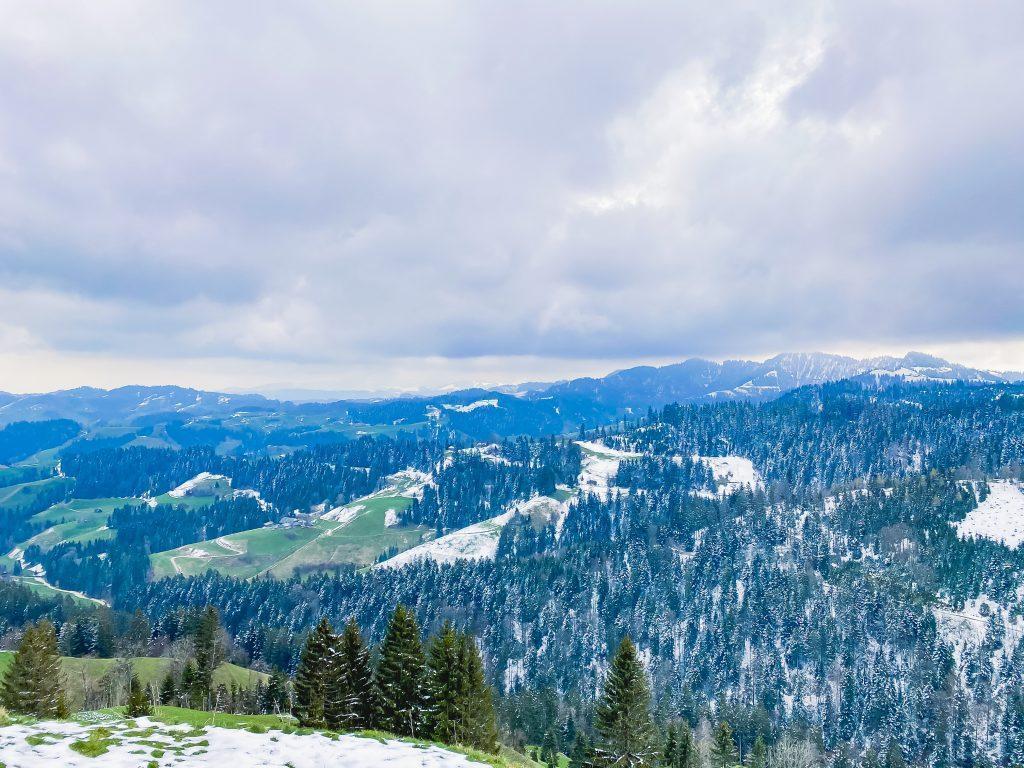nomady napfgebiet schneelandschaft