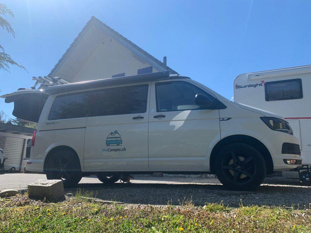 stellplatz schweiz waldruh campingbus