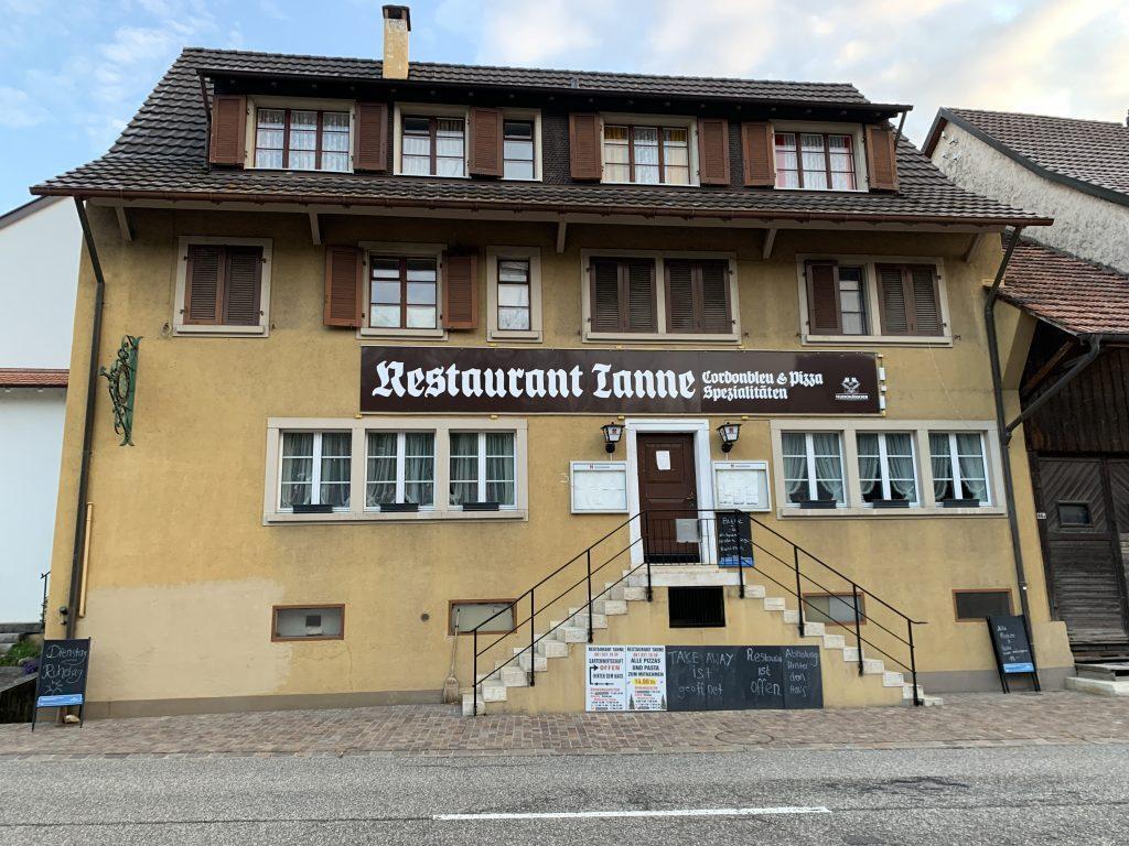 womodinner schweiz restaurant tanne