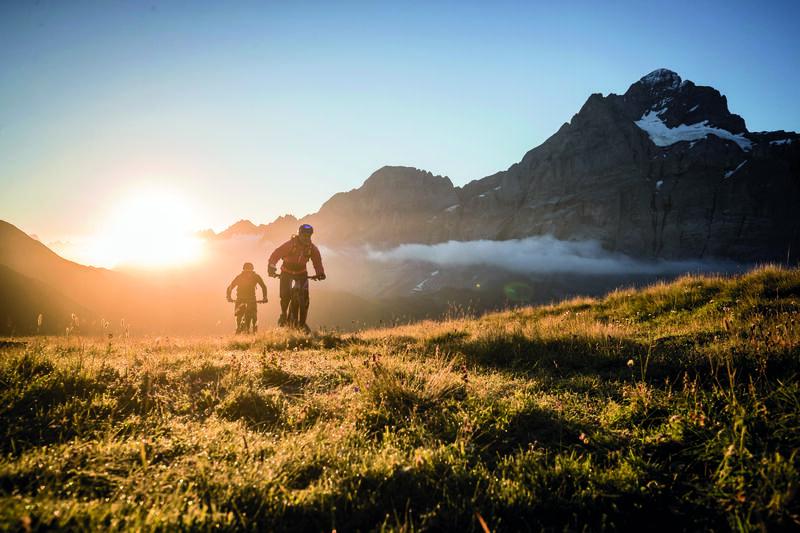 Alpencamping hasliberg campingplatz mountainbike