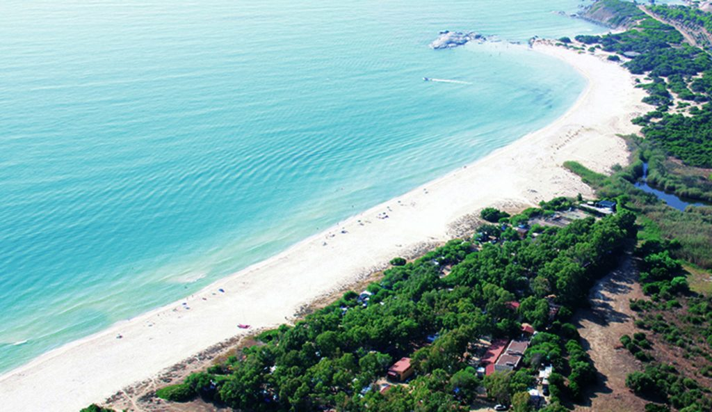 Camping Italien am Meer