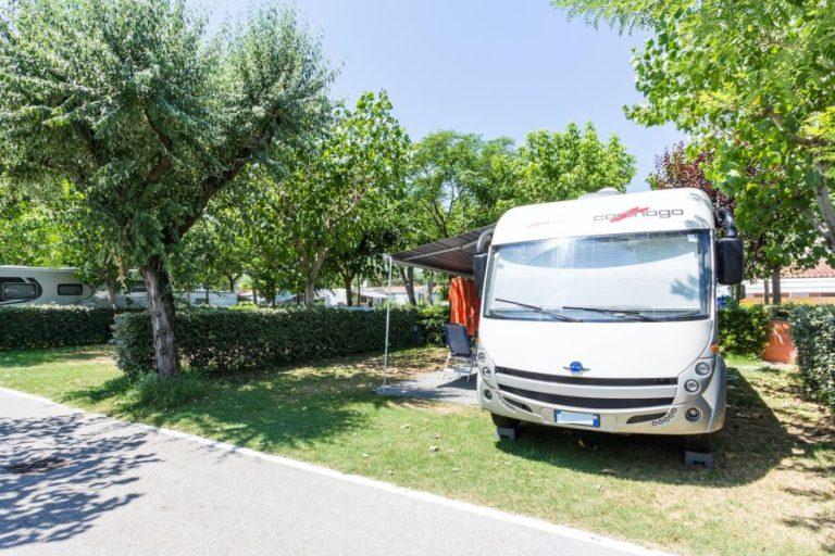 Camping Italien Rubicone stellplatz