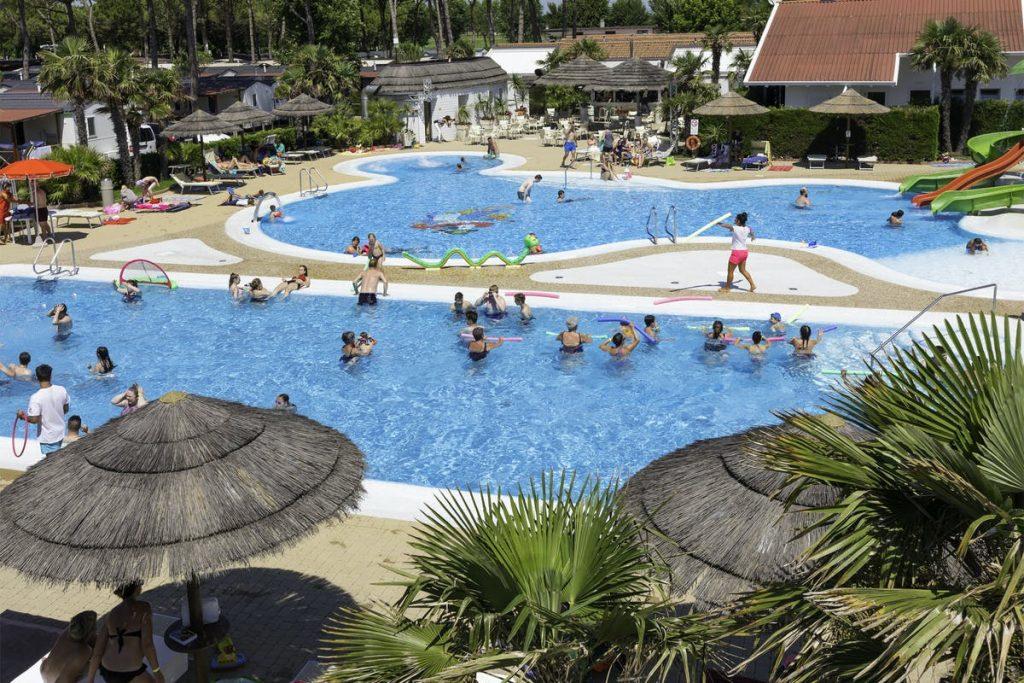 Camping Italien Vela Blu pool
