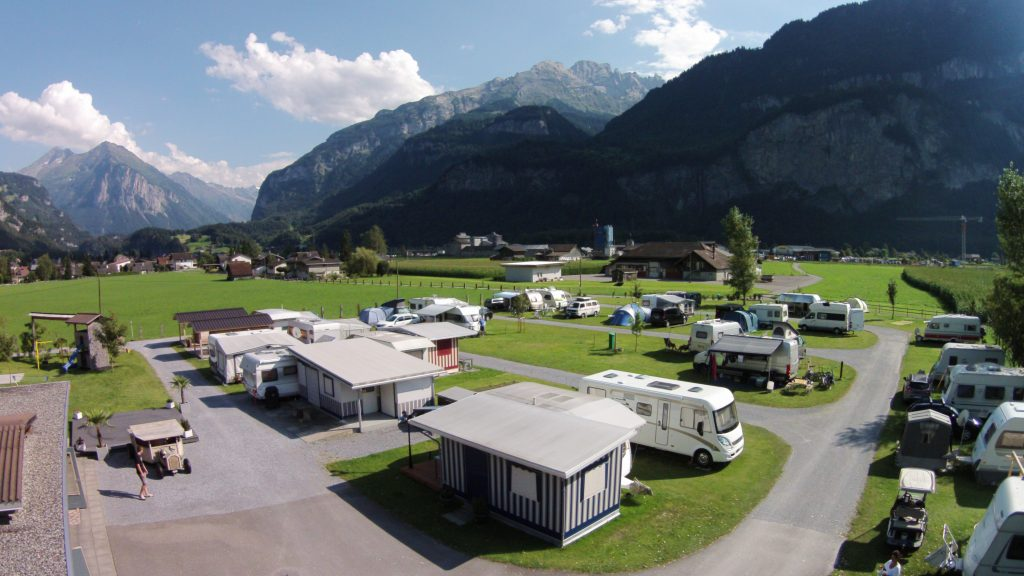 campingplatz mountainbike Alpencamping