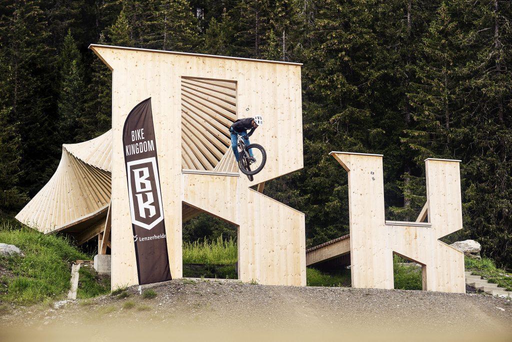 campingplatz mountainbike bikeKingdom lenzerheide