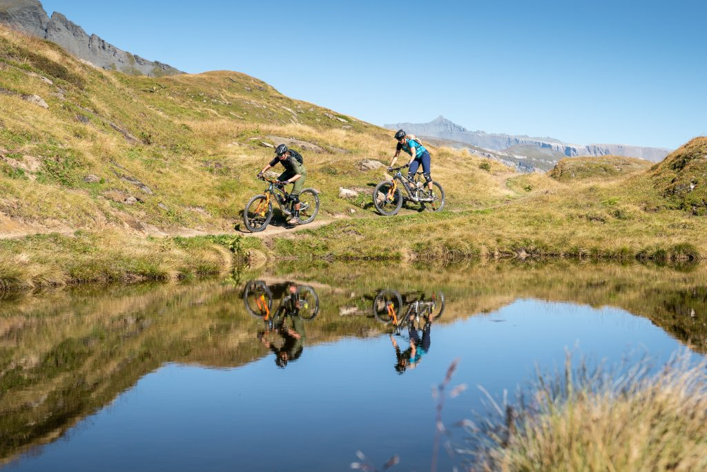 campingplatz mountainbike flims see