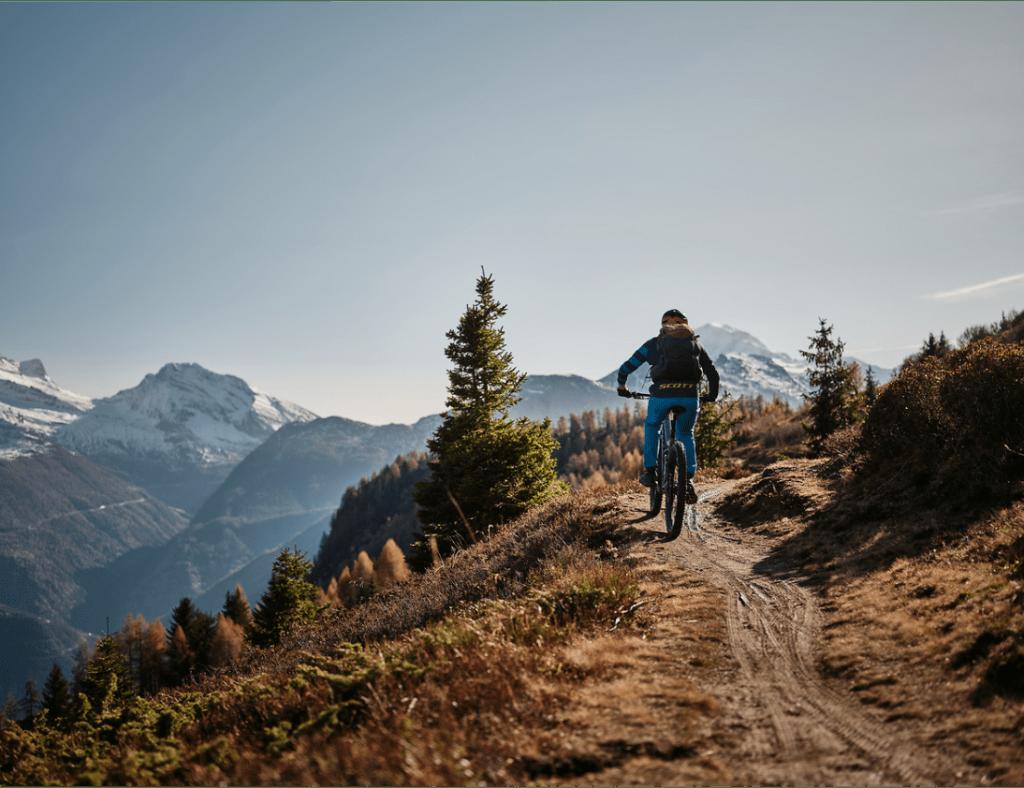 campingplatz mountainbike visp