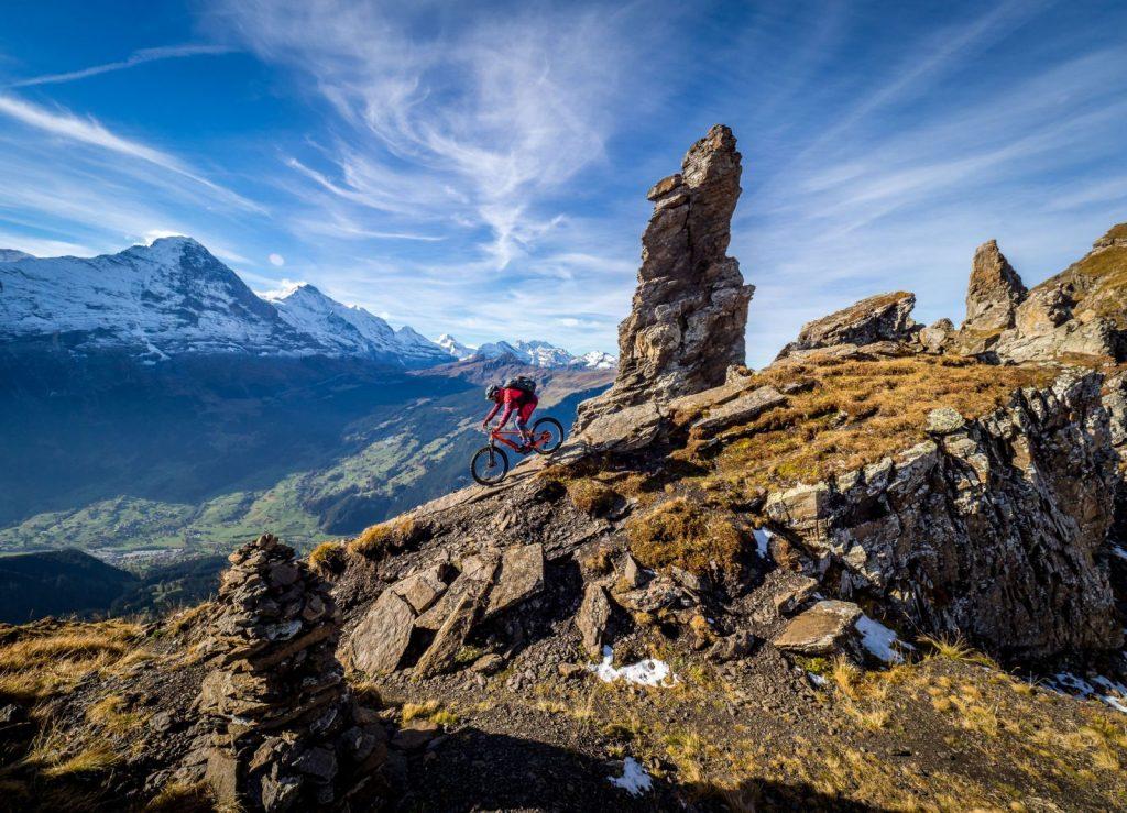 grindelwald campingplatz mountainbike