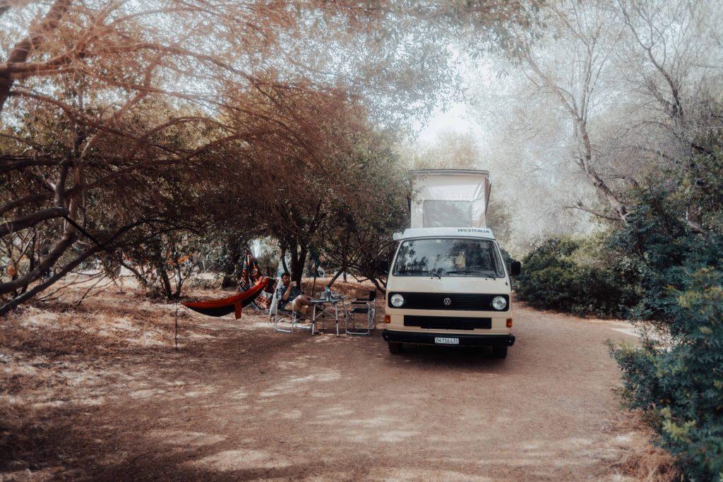 korsika campingplatz camping arone camper