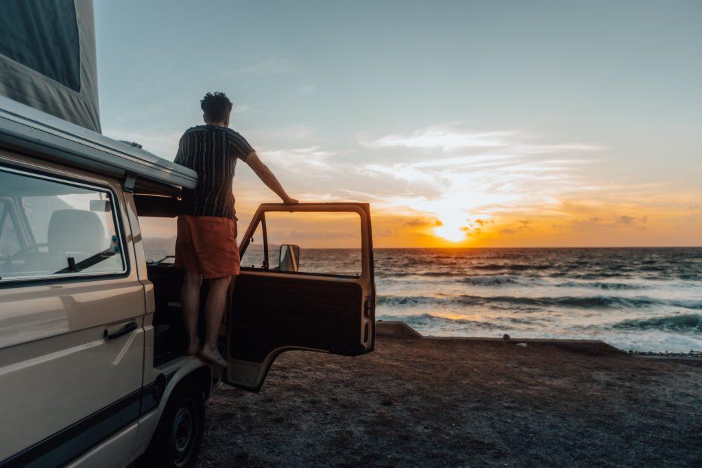 korsika meersicht campingplatz camping a stella camper