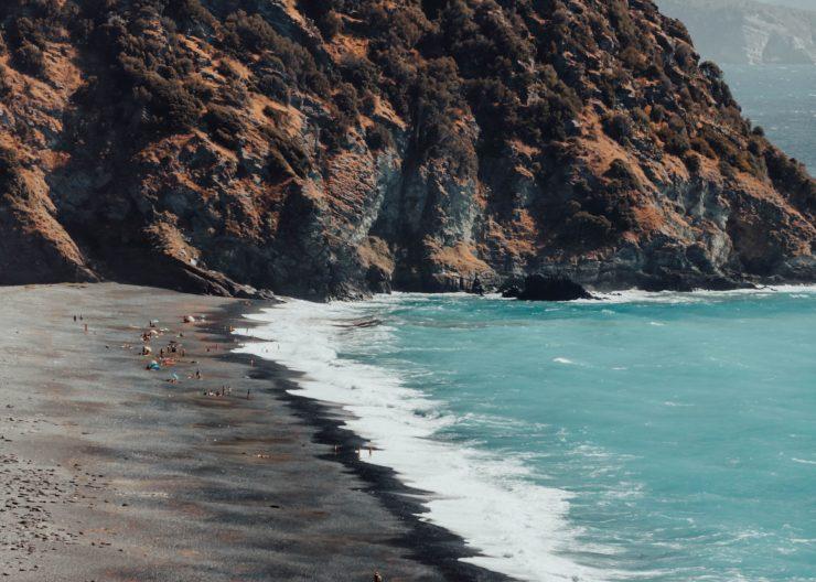 korsika plage nonza strand meer