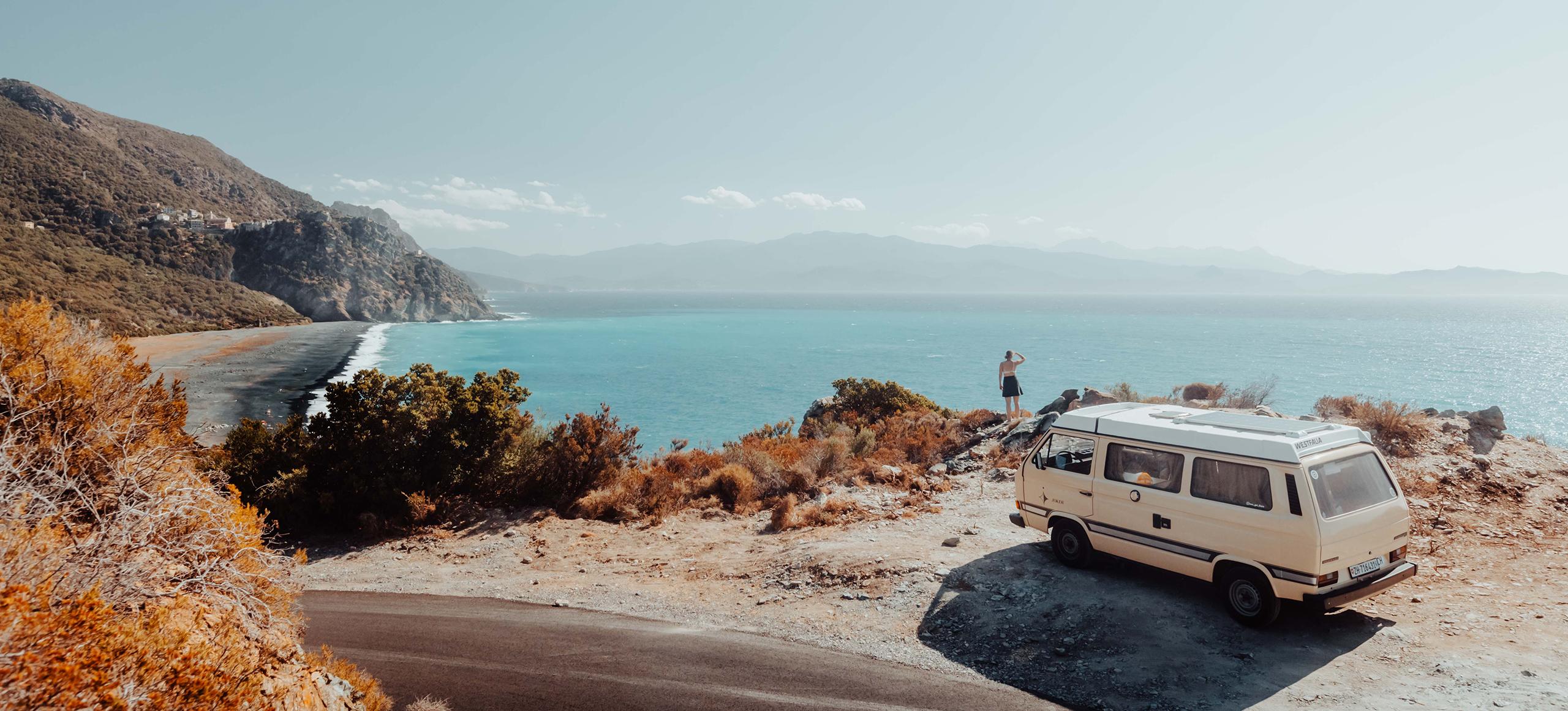 Insel der Schönheit – mit dem VW T3 rund um Korsika